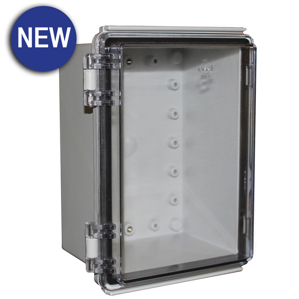 X8 Series Electrical Hinged Lid Enclosures Camden Boss