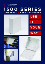 1500 series universal smart enclosure leaflet