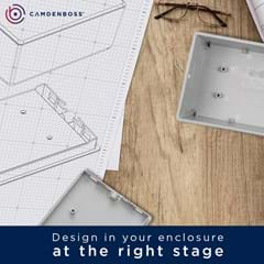 Design in your enclosure at the right stage