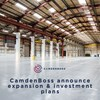 CamdenBoss announces expansion plans with investment in significant new facility - image of new CamdenBoss warehouse