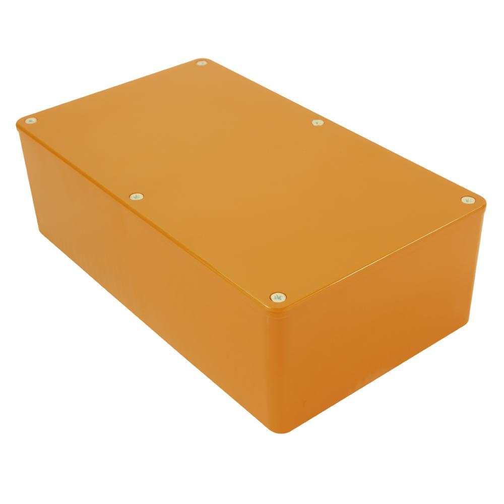 Black 190X110X60MM BIM2006//16-BLK//BLK Camdenboss ABS Box with LID